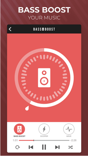 Amplificador de potencia de volumen de refuerzo de graves