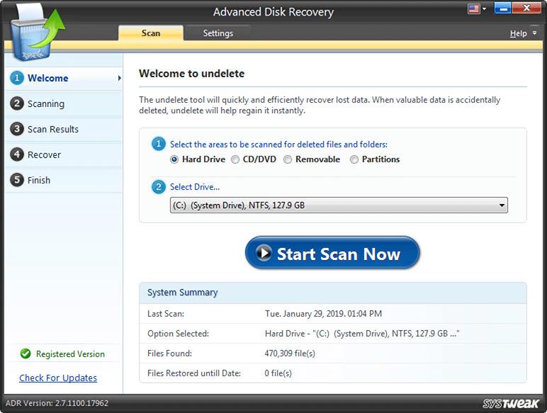 Recupere archivos borrados permanentemente en Windows 10