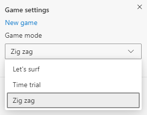 Cómo jugar los modos de juego de Microsoft Edge Surf Game