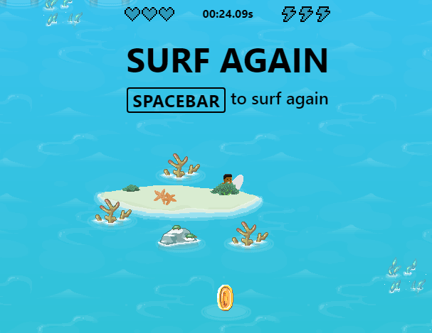 Cómo reproducir la captura de pantalla del juego Microsoft Edge Surf