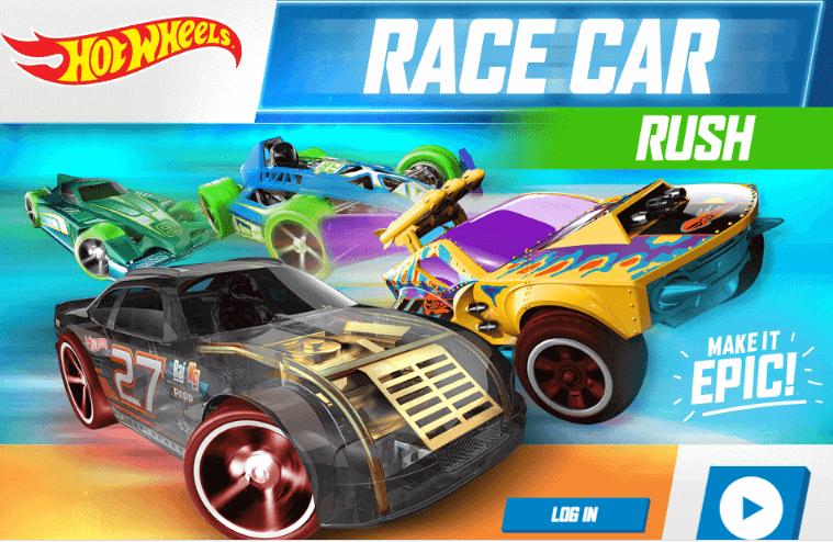 Carrera de coches de carreras de Hot Wheels